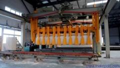机械出釜自动掰板打包设备