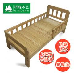 木床 实木床 松木床 原木床 DIY床 儿童床 环保免漆 木蜡油款