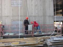 青海建科院  安全作业吊篮检测